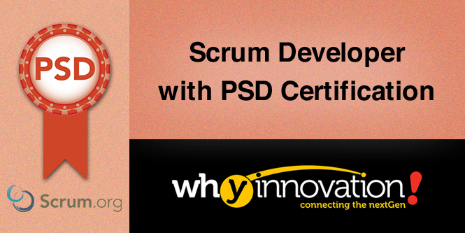Scrum Developer with PSD Certification