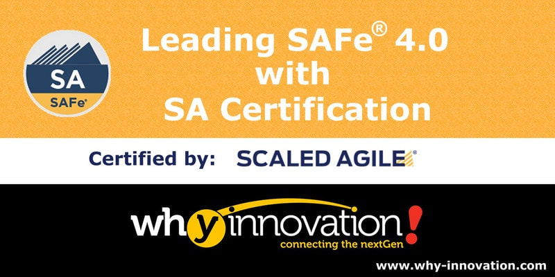 Leading SAFe 4.0 with SA Certification